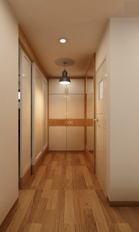 Căn hộ hơn 110m2 thiết kế tiền phòng 'gắn' tủ âm tường - ảnh 15