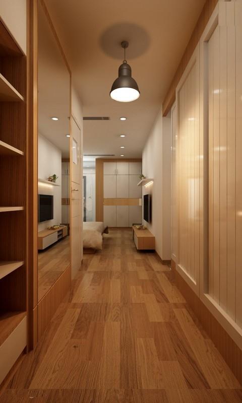 Căn hộ hơn 110m2 thiết kế tiền phòng 'gắn' tủ âm tường - ảnh 16