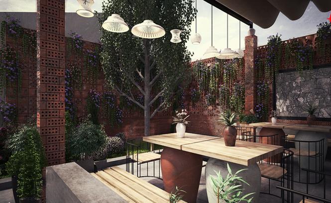 Độc đáo mô hình quán cà phê gốm kiêm... nhà trọ - ảnh 9