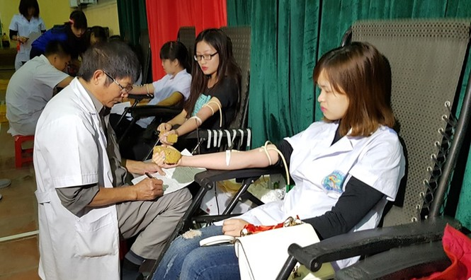 Khi nông dân tham gia hiến máu - ảnh 1