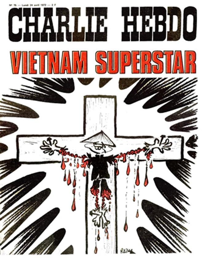 Báo Charlie Hebdo chống chiến tranh Việt Nam - ảnh 2
