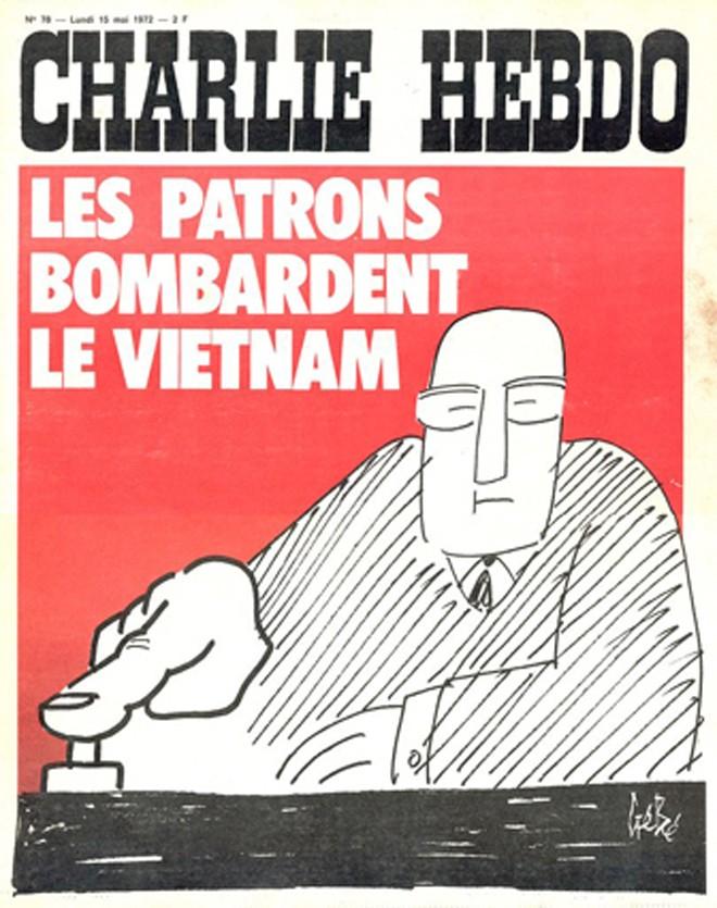 Báo Charlie Hebdo chống chiến tranh Việt Nam - ảnh 3