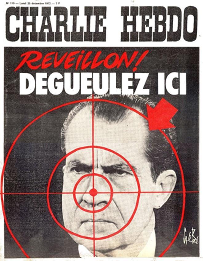 Báo Charlie Hebdo chống chiến tranh Việt Nam - ảnh 4