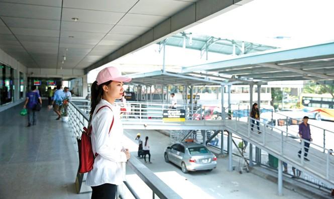 Bến xe Nước Ngầm nâng cấp tựa sân bay - ảnh 1
