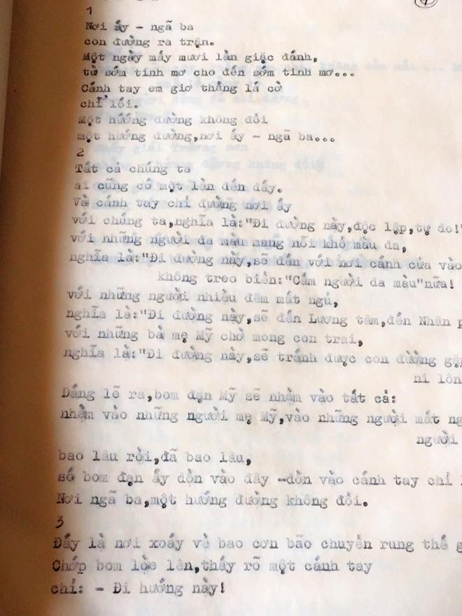 Nâng niu thơ chồng viết cho người khác - ảnh 3