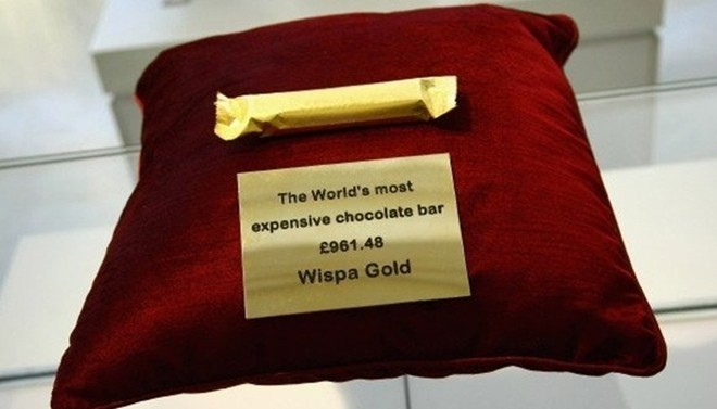 Những món ăn làm từ vàng nguyên chất giá ngàn đô - ảnh 9