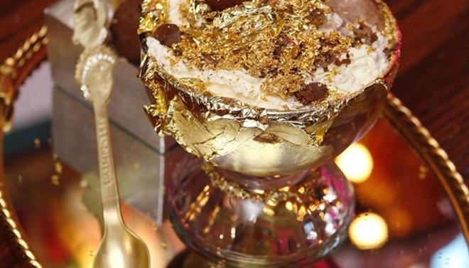 Những món ăn làm từ vàng nguyên chất giá ngàn đô - ảnh 10