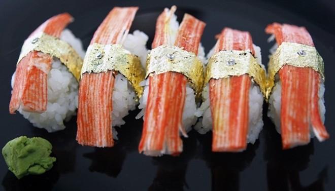 Những món ăn làm từ vàng nguyên chất giá ngàn đô - ảnh 7