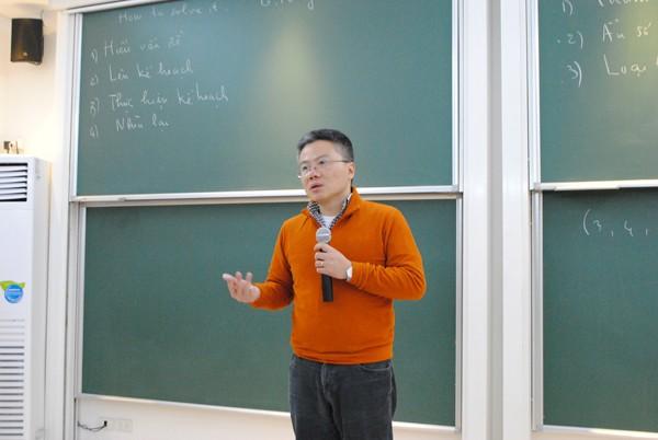 GS Ngô Bảo Châu: Giải bài toán như viết một kịch bản - ảnh 1