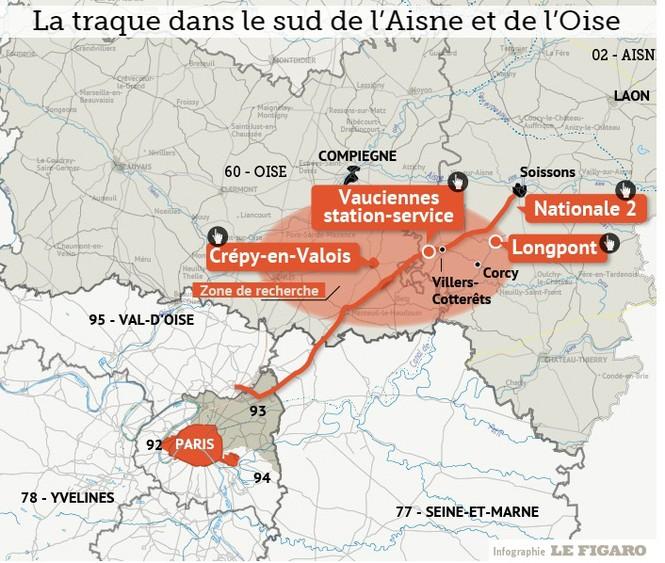 [CẬN CẢNH] Đặc nhiệm Pháp săn lùng kẻ thảm sát tòa báo ở Paris - ảnh 13