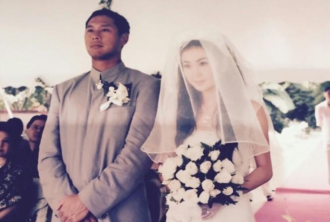 Ôn Bích Hà bất ngờ tung ảnh cưới để cảm ơn chồng - ảnh 1