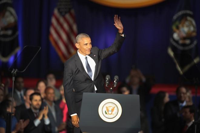 Ông Obama cam kết chuyển giao quyền lực suôn sẻ cho Trump - ảnh 1