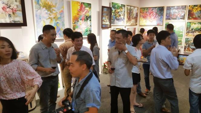 Ra mắt phòng tranh nghệ thuật Hoàng Hà ART - ảnh 1