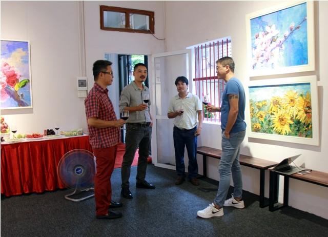 Ra mắt phòng tranh nghệ thuật Hoàng Hà ART - ảnh 4