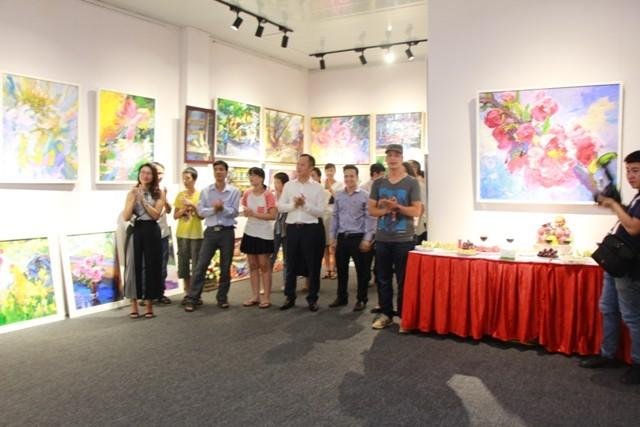 Ra mắt phòng tranh nghệ thuật Hoàng Hà ART - ảnh 7