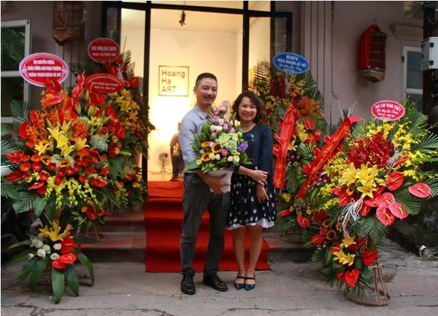 Ra mắt phòng tranh nghệ thuật Hoàng Hà ART - ảnh 9