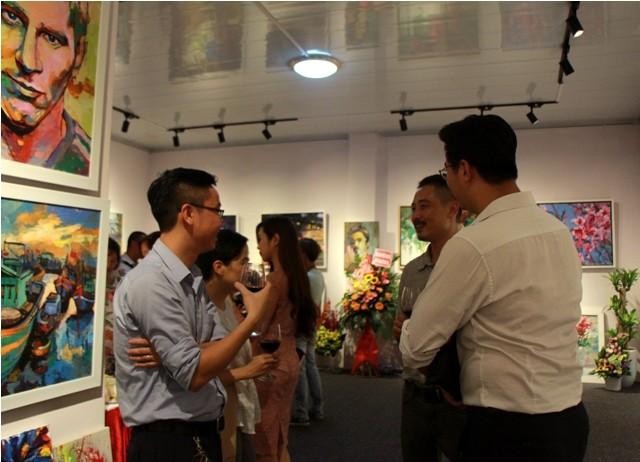 Ra mắt phòng tranh nghệ thuật Hoàng Hà ART - ảnh 2