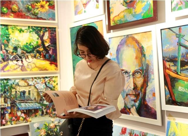 Ra mắt phòng tranh nghệ thuật Hoàng Hà ART - ảnh 3