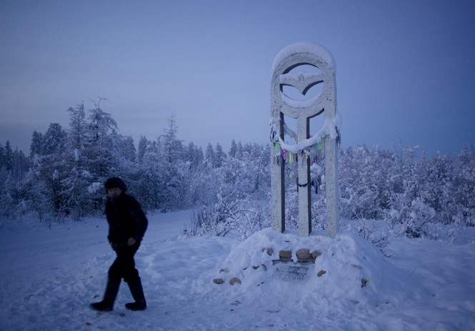 Thăm thú ngôi làng lạnh nhất thế giới đón năm mới - ảnh 21