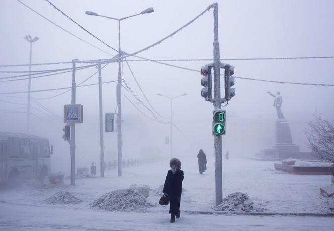 Thăm thú ngôi làng lạnh nhất thế giới đón năm mới - ảnh 1