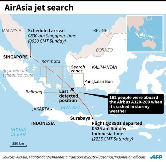 Phát hiện thân máy báy QZ8501? - ảnh 2
