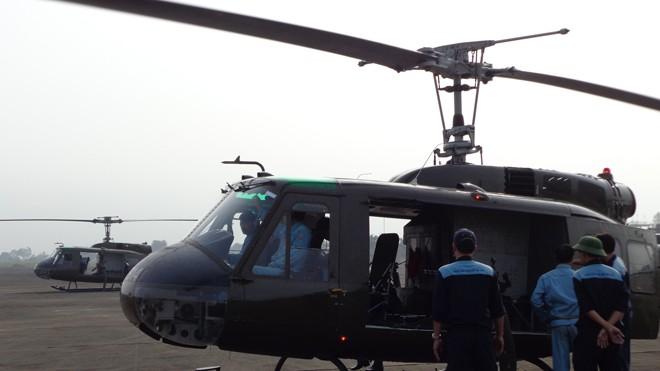 [ẢNH] Trực thăng UH-1 số hiệu 7912 trước khi gặp nạn - ảnh 1