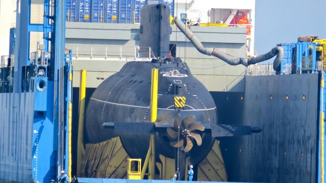 Chuẩn bị cho tàu ngầm Hải Phòng vào Quân cảng Cam Ranh    - ảnh 2