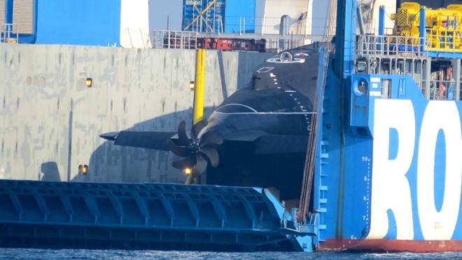 Chuẩn bị cho tàu ngầm Hải Phòng vào Quân cảng Cam Ranh    - ảnh 1