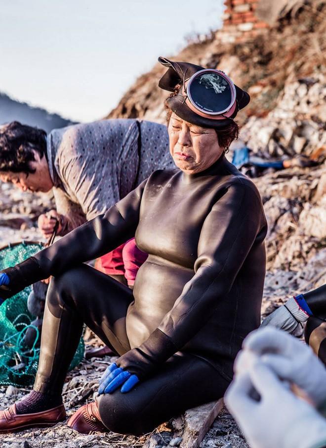 Những 'nàng tiên cá' cuối cùng ở Hàn Quốc  - ảnh 7