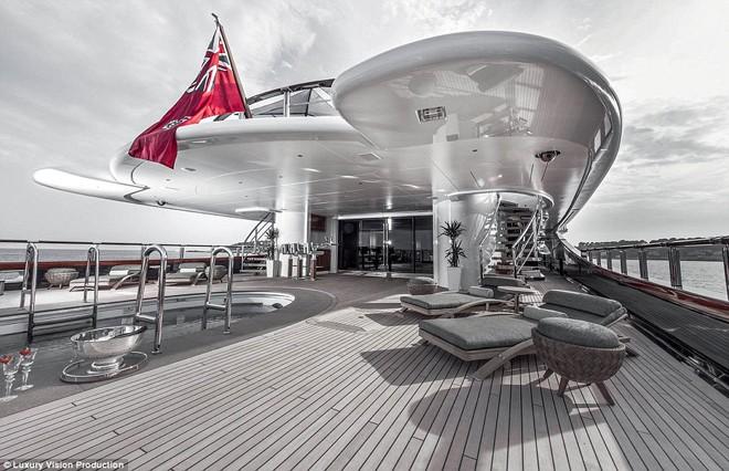 Ngắm những siêu du thuyền sang trọng nhất thế giới - ảnh 5