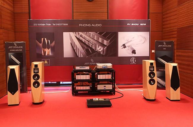 Khai mạc triển lãm thiết bị nghe nhìn Avshow Hà Nội - ảnh 6