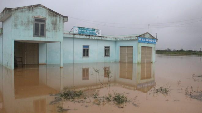 Nhiều nơi ở Quảng Nam ngập trong nước lũ - ảnh 2