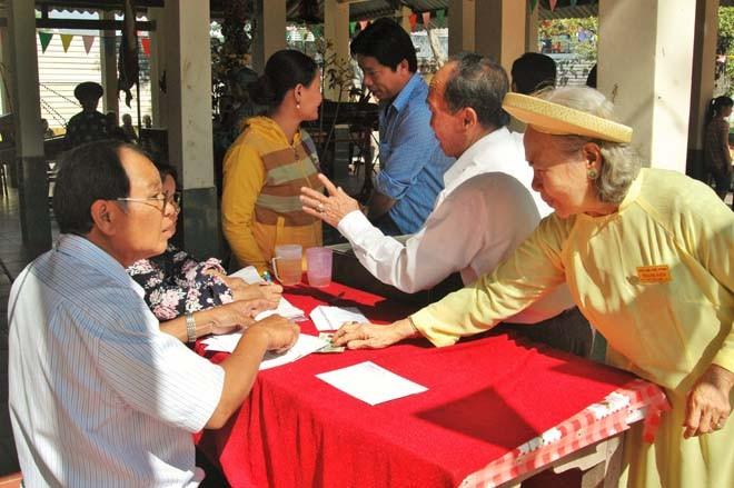 Độc đáo lễ cầu an ở đình làng của người Sài Gòn - ảnh 12