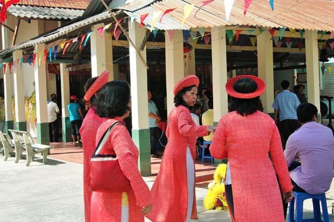 Độc đáo lễ cầu an ở đình làng của người Sài Gòn - ảnh 2