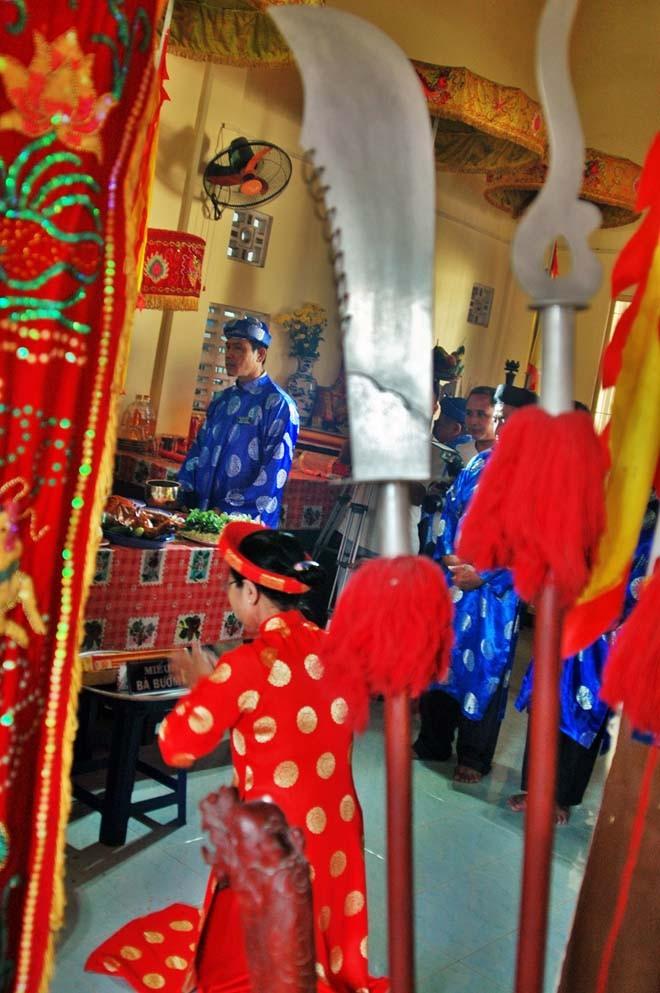 Độc đáo lễ cầu an ở đình làng của người Sài Gòn - ảnh 9