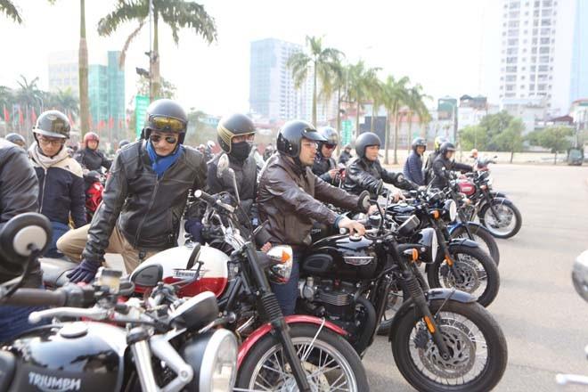 Diễu hành motor trước liveshow tưởng nhớ Trần Lập - ảnh 9