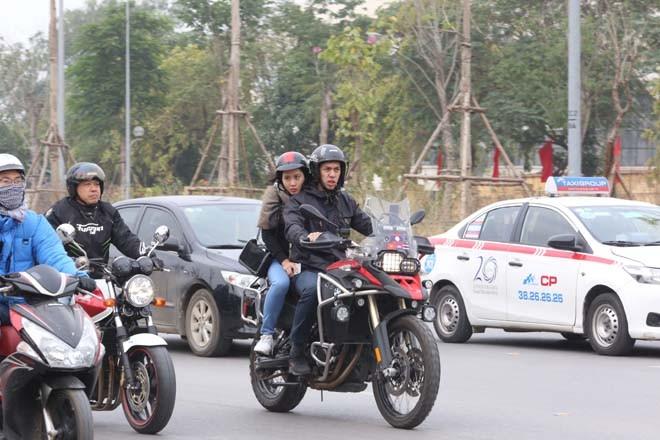 Diễu hành motor trước liveshow tưởng nhớ Trần Lập - ảnh 4