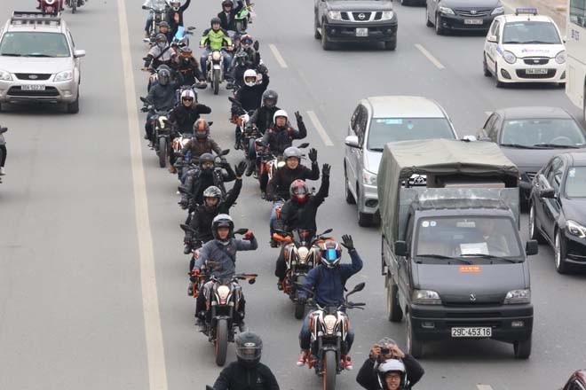 Diễu hành motor trước liveshow tưởng nhớ Trần Lập - ảnh 7