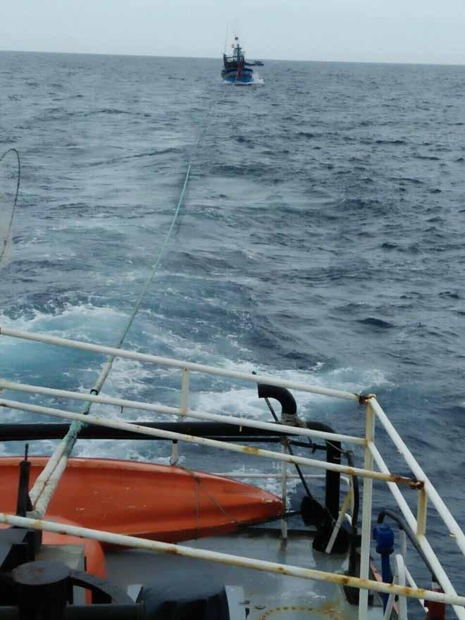 6 ngư dân gặp nạn tại khu vực biển Khánh Hòa - ảnh 1