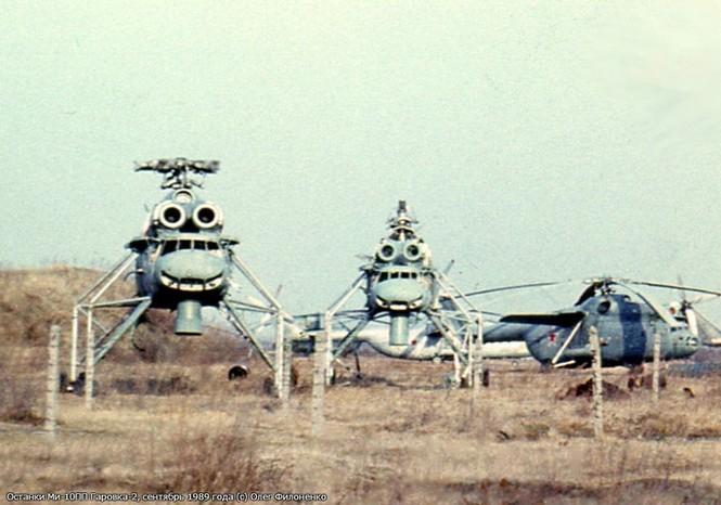 Vén màn nhiệm vụ tối mật của siêu trực thăng Mi-10PP - ảnh 8