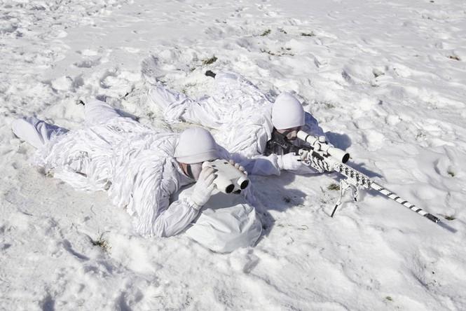 Đặc nhiệm Hàn Quốc tác chiến trong tiết trời âm 20 độ - ảnh 13