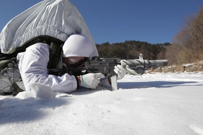 Đặc nhiệm Hàn Quốc tác chiến trong tiết trời âm 20 độ - ảnh 8