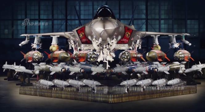 Nhìn gần cung - kiếm của siêu chiến đấu cơ F-35 - ảnh 13