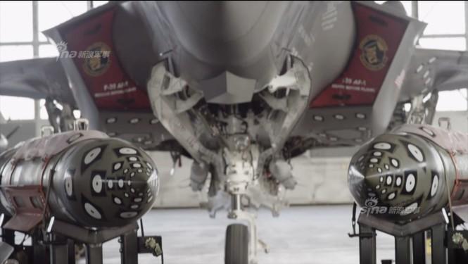 Nhìn gần cung - kiếm của siêu chiến đấu cơ F-35 - ảnh 3