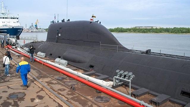 tàu ngầm hạt nhân nga - ảnh 1