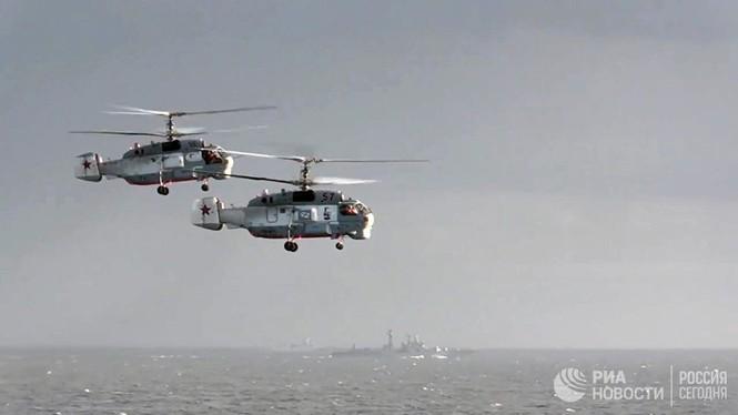 [ẢNH] Khoảnh khắc đẹp của tàu sân bay Nga tham chiến ở Syria  - ảnh 11