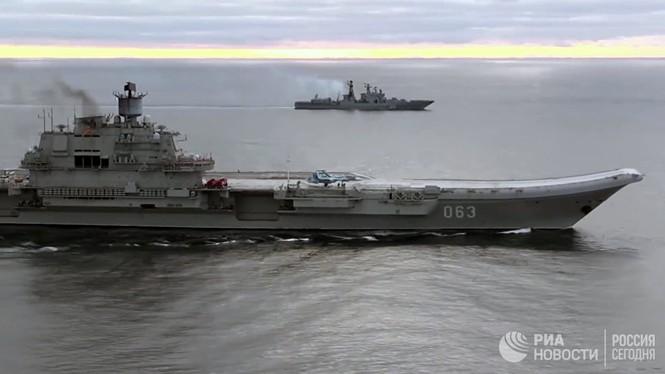 [ẢNH] Khoảnh khắc đẹp của tàu sân bay Nga tham chiến ở Syria  - ảnh 15