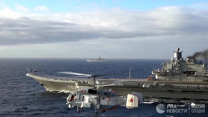[ẢNH] Khoảnh khắc đẹp của tàu sân bay Nga tham chiến ở Syria  - ảnh 4