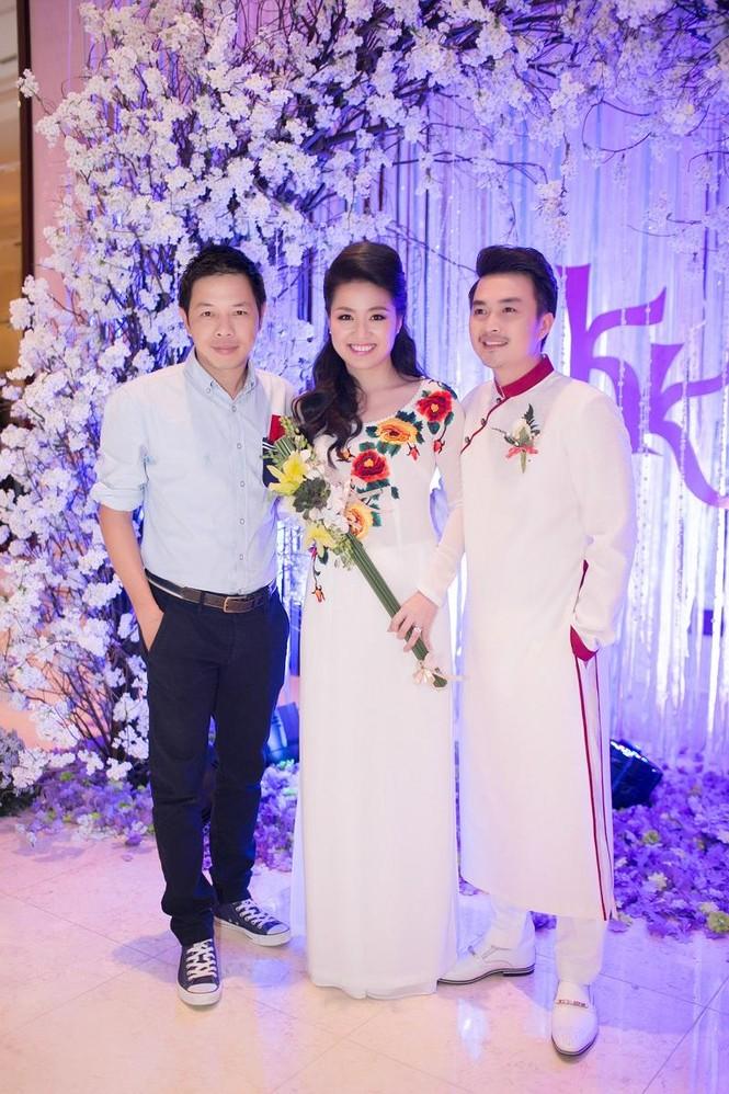 Sao Việt nhí nhảnh dự đám cưới Lê Khánh - ảnh 9