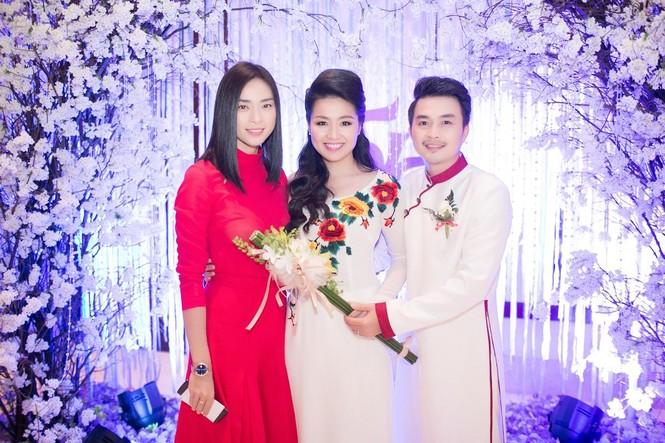Sao Việt nhí nhảnh dự đám cưới Lê Khánh - ảnh 10